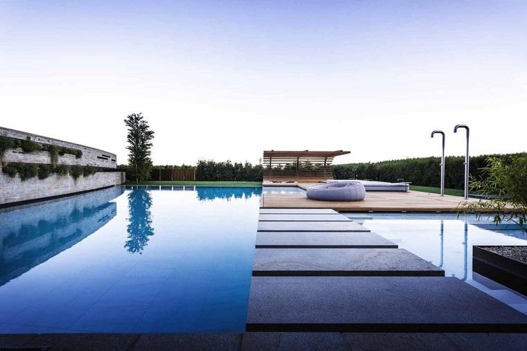 zona comfort jardin moderno duchas muebles comodos ideas