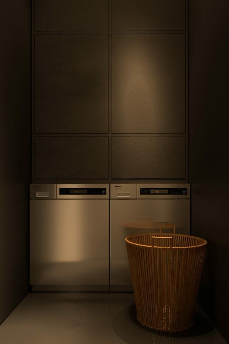 Igor Sirotov cuarto lavadoras paredes oscuras