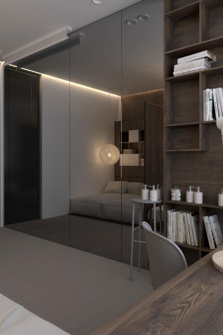 Igor Sirotov habitacion armarios espejo