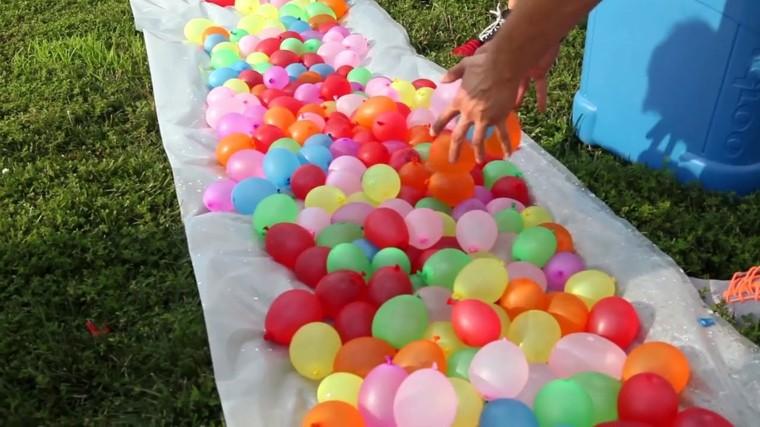actividades en verano niños globos