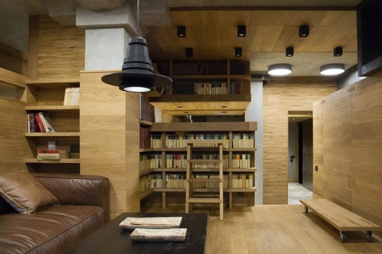 alojamiento en moscú mueble libros