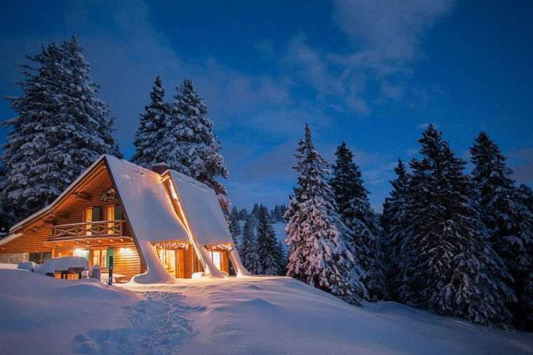 alojamiento vacacional invierno montaña