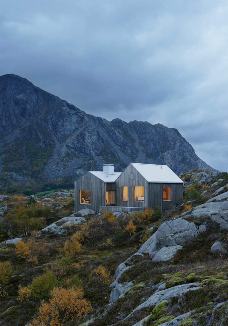 alquiler casas vacacionales solitarias descanso
