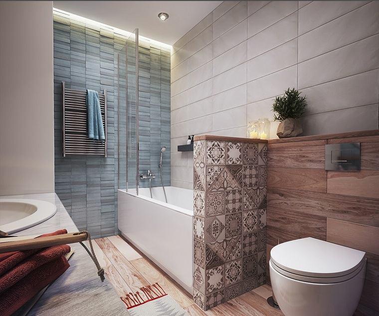 apartamentos diseños calido baño plantas