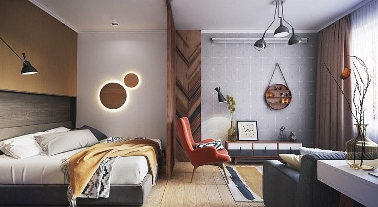 apartamentos diseños comedores acondicionados luces