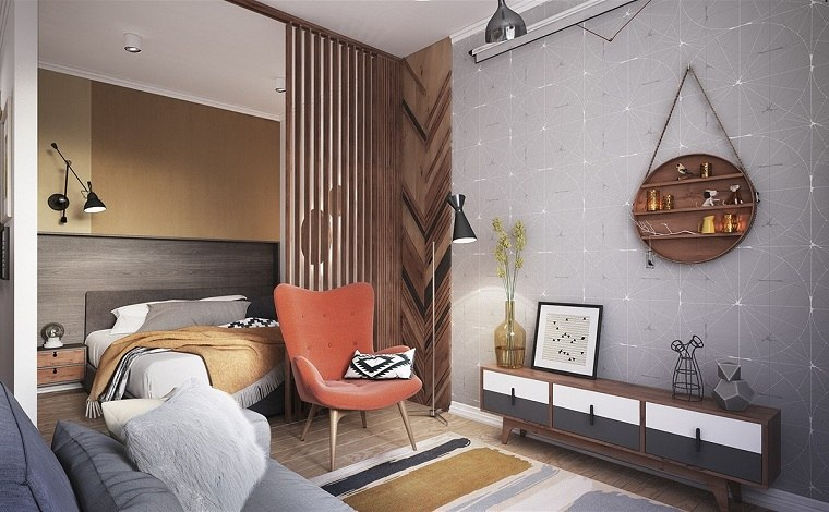 apartamentos diseños conceptos muebles colgantes