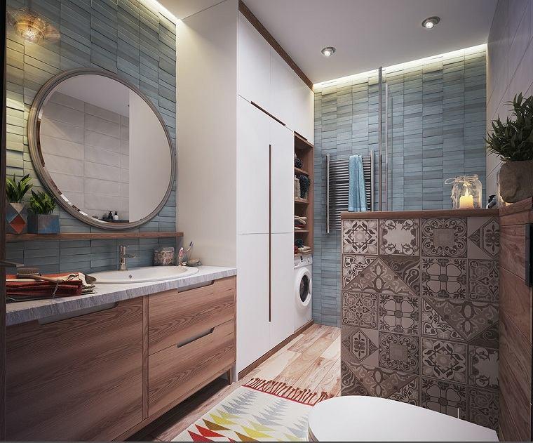 apartamentos diseños eclectico impresiones espejos