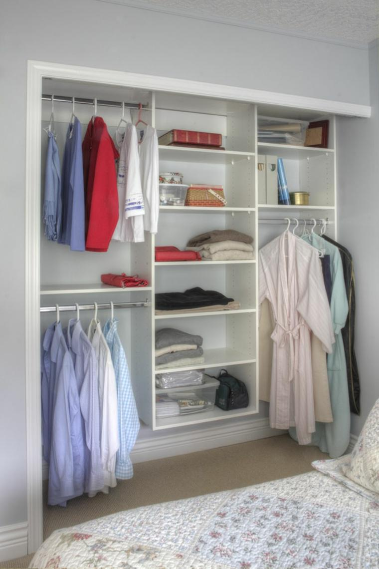 Closets baratos ideas de closets closet nice ideas de for Muebles para ropa economicos