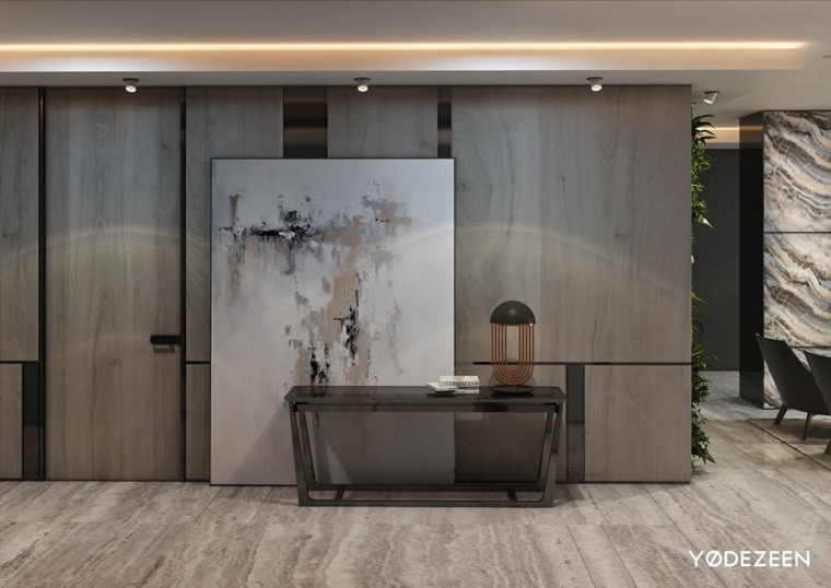 arte cuadro paredes conceptos led