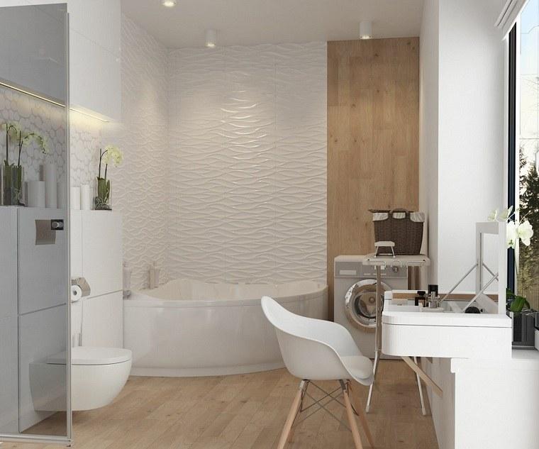 bañera madera conceptos estilos esquinas