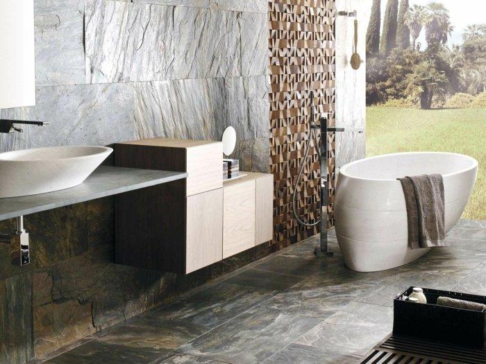 bañeras piedra natural blanca centro cristales