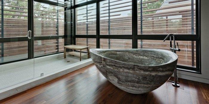 bañeras piedra natural esculpida muebles ventanas