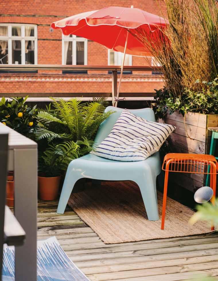 balcones modernos diseno muebles detalles color ideas