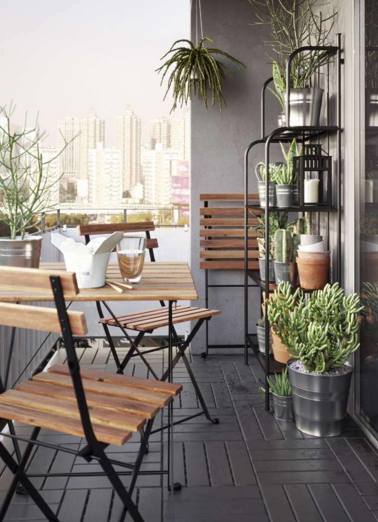 balcones modernos diseno muebles detalles comedor plantas ideas
