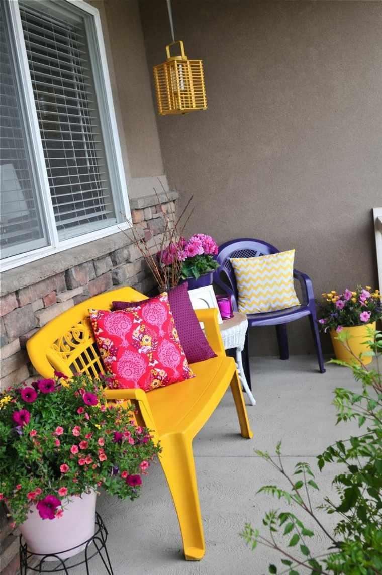 balcones modernos diseno muebles detalles muebles plastico ideas
