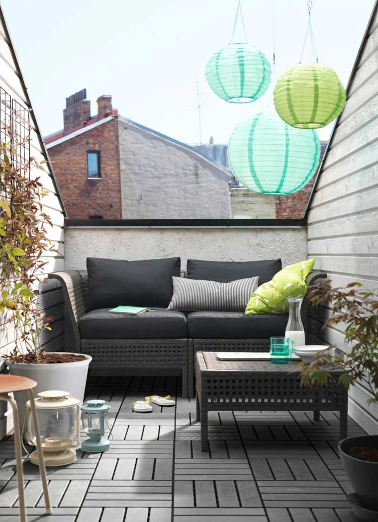 balcones modernos diseno muebles detalles sofa ideas