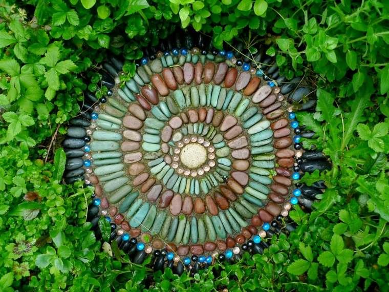 original baldosa decorativa piedras colores