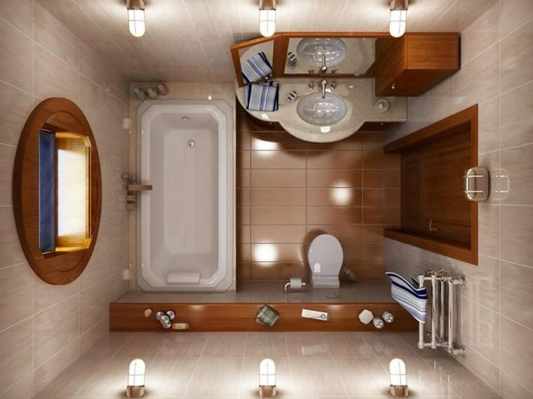 baños pequeños modernos orden