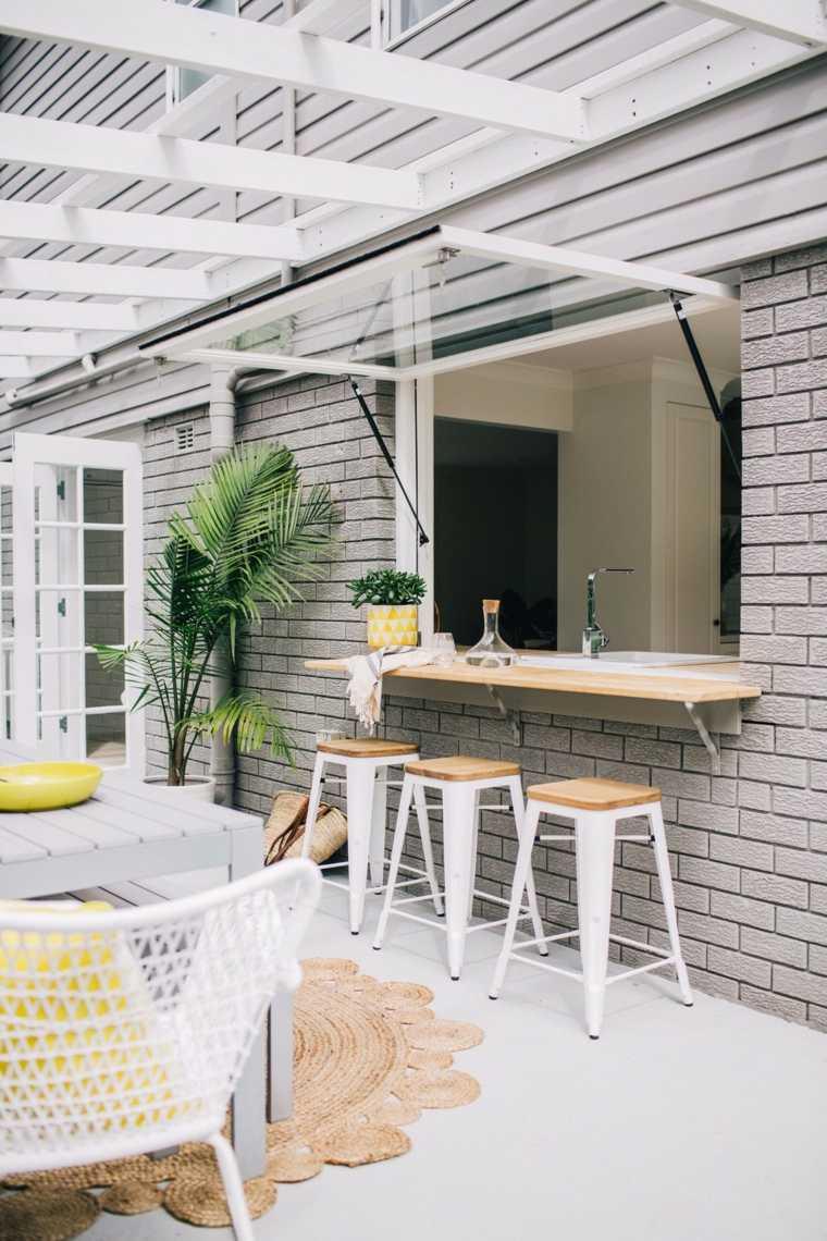 Bares y cocinas en el jardín - 24 ideas para inspirarte -