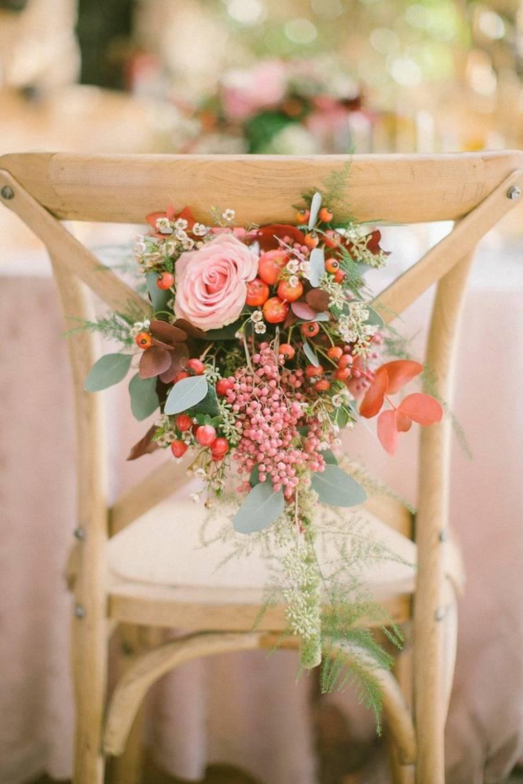 decoración vintage para bodas boda estilo vintage opciones silla madera ideas