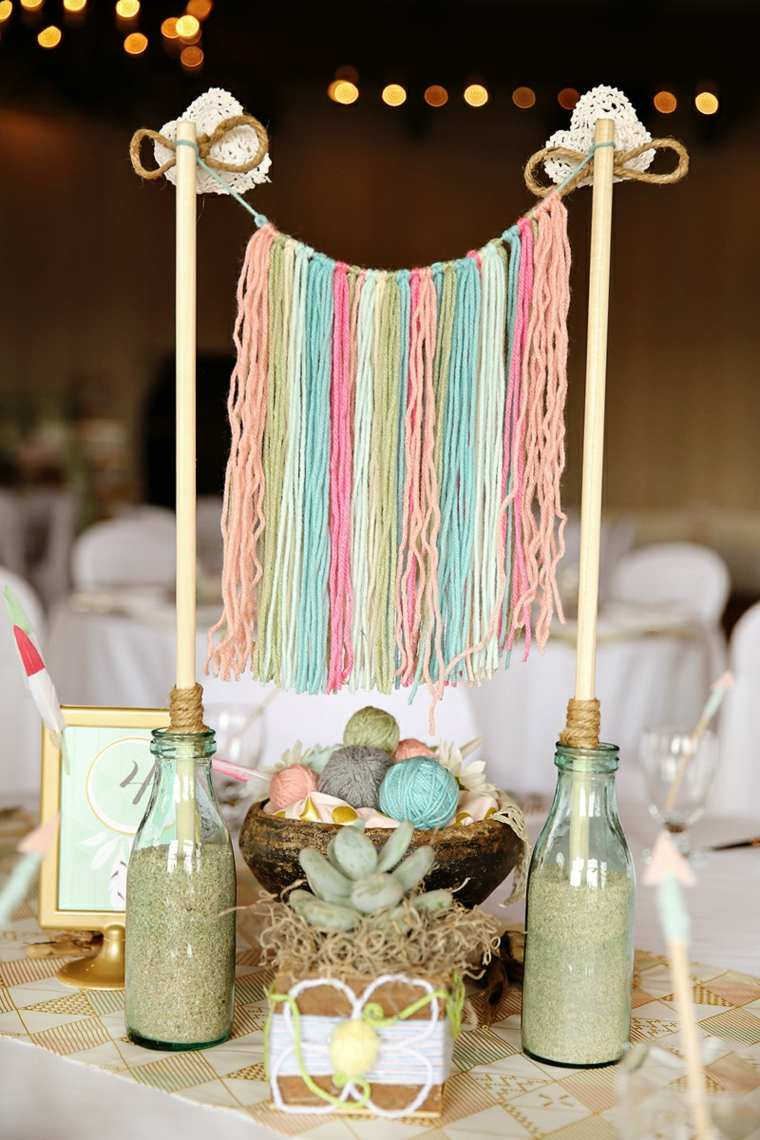 Estilo boho chic para decorar tu fiesta baby shower Adornos hippies