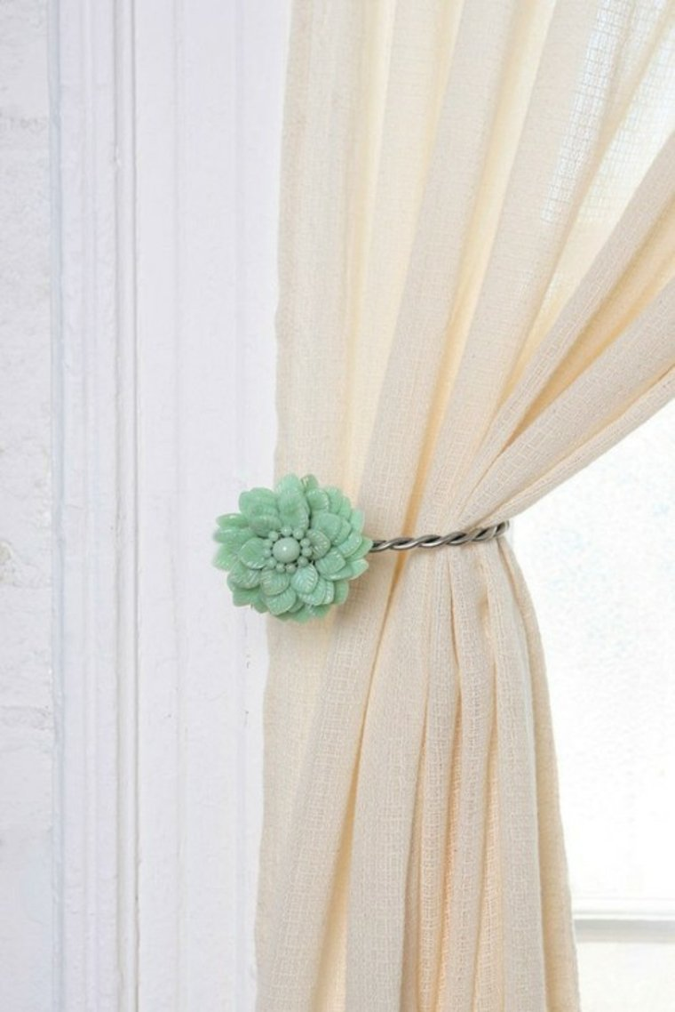 Diy Curtain Pull Backs