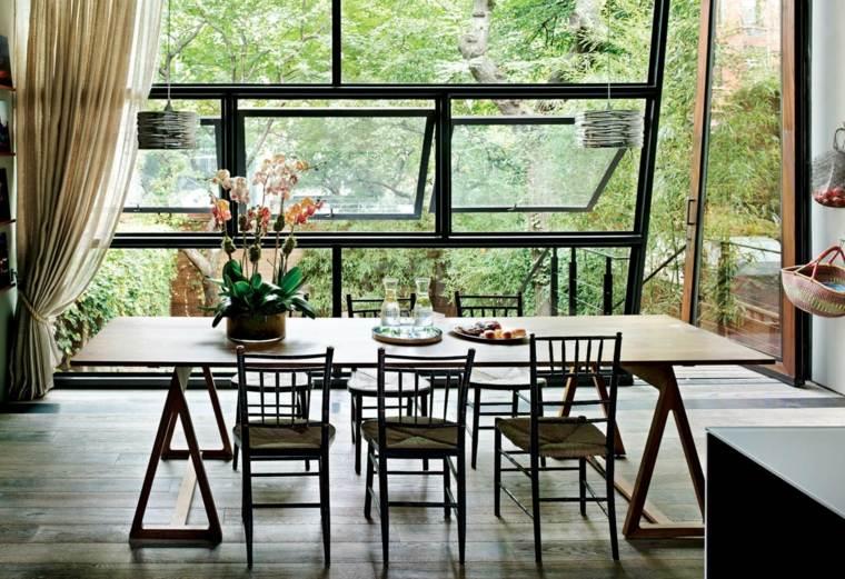 Comedores de dise o moderno funcionalidad y estilo for Comedor jardin