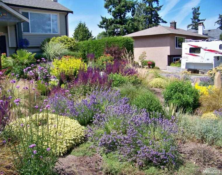 bonito diseno decoración jardines