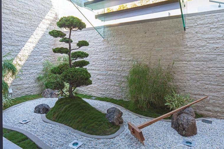bonito jardin zen pequeño