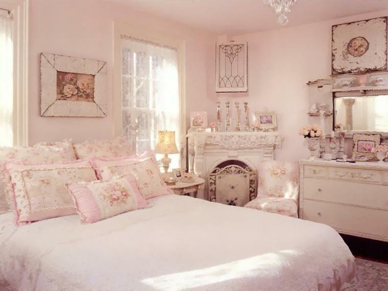 bonita decoración cuarto lujoso