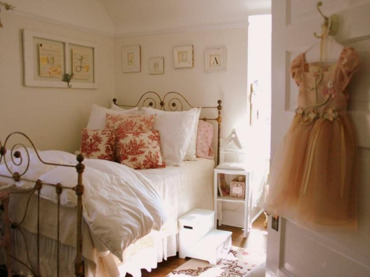 bonito dormitorio infantil romantico