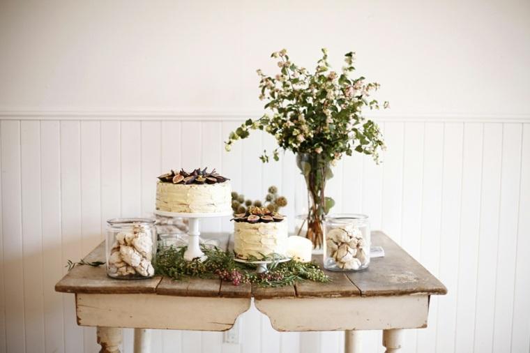 bonita decoración mesa fiesta