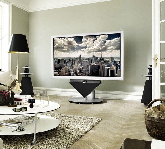 televisor especiales conceptos idea muestras suelos