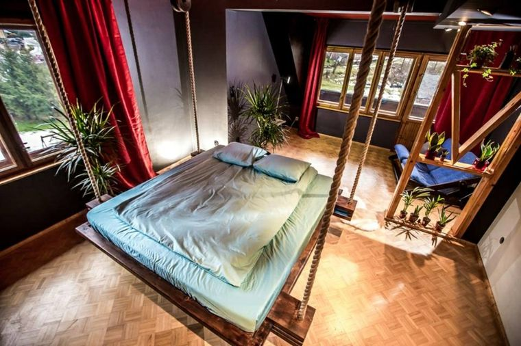 camas colgantes lujosas dsieno