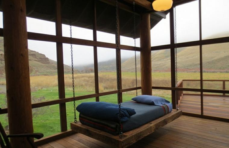 cama colgante diseño sencillo