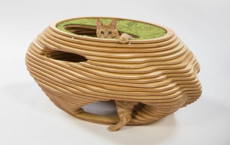 cama para gatos diseño arbol