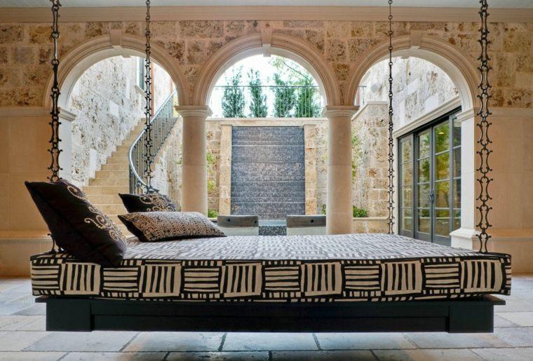 camas colgantes modernas lujosas diseño