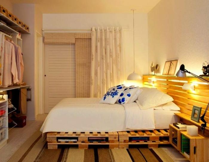 camas con palets calida fresca abiertos