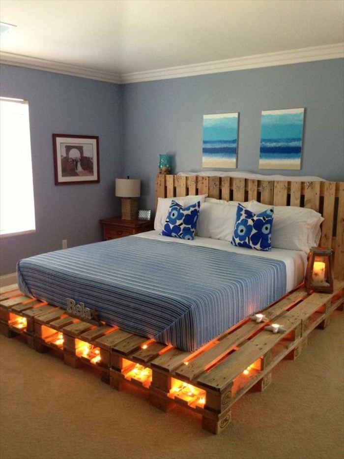 camas con palets especiales lineas tendencias