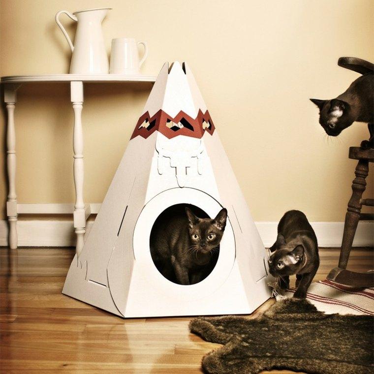camas de gatos estilo indio