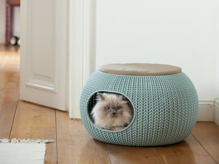 camas para gatos guarida trenzada