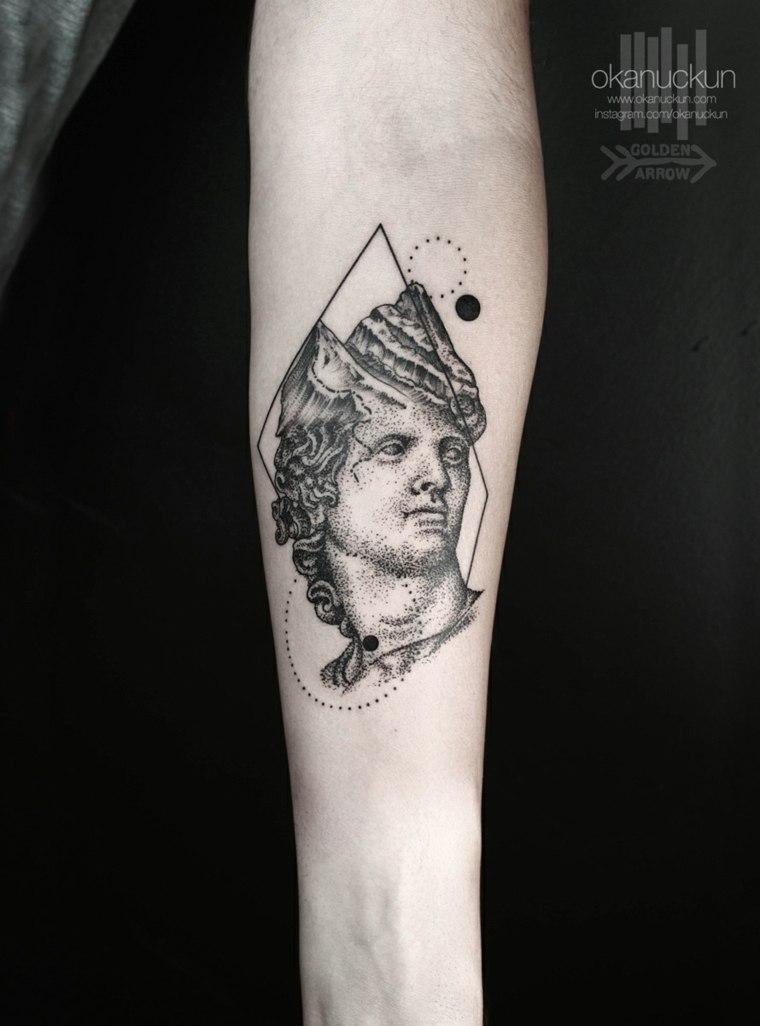 cara clásica original tatu moderno