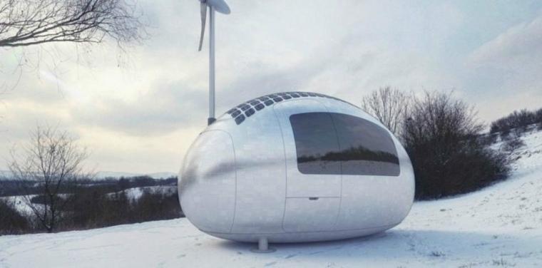 casa capsula portable disenada Nice Architects ideas