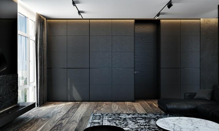 casas de lujo ideas madera suelos armarios