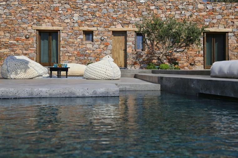 casa de verano estilo griego