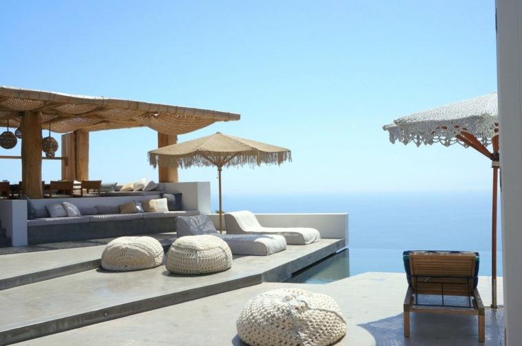 casa de verano isla syros