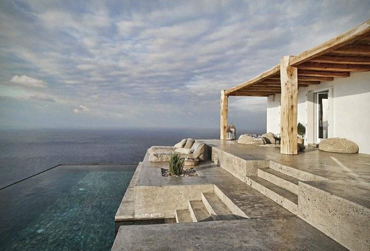 casa de verano syros grecia