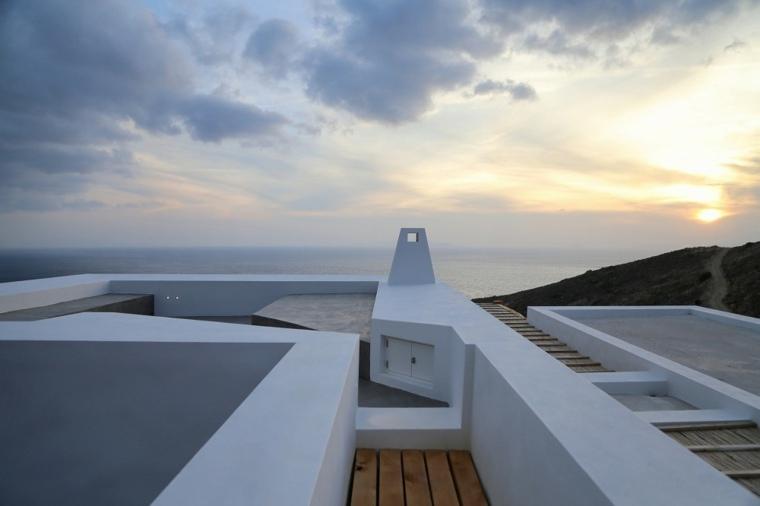 casa de verano vista mar