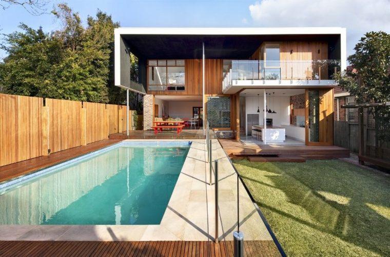 Decoracion patios dise os paisaj sticos que marcan for Disenos de piscinas para casas pequenas