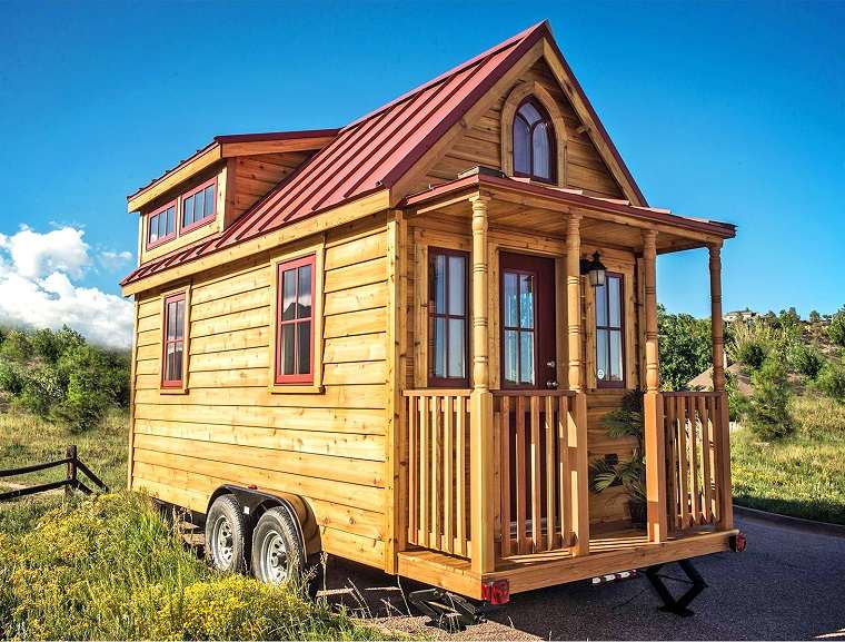 casa pequena madera diseno precioso ideas